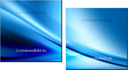Leinwandbild - Bocos Benedict : abstract composition
