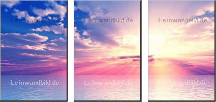 Leinwandbild - Austra : Beautiful sunset