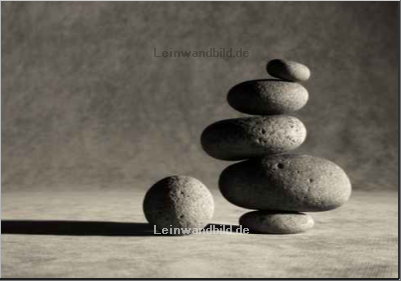 Leinwandbild - Mark Aplet : corporate zen