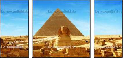 Leinwandbild - Daniel Fleck : Great Sphinx of Giza - panorama