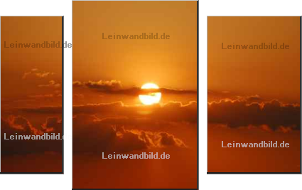 Leinwandbild - Jugulator : Sunset