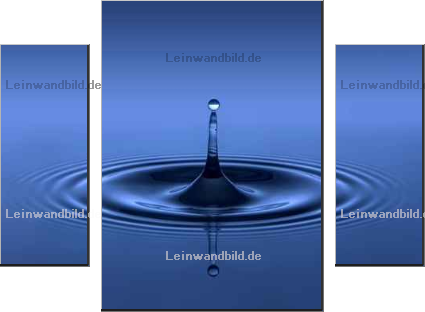 Leinwandbild - Horst Brandt : just dripping 01