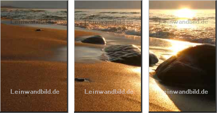 Leinwandbild - pashut : the beach