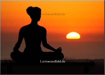 Leinwandbild - sculpies : yoga
