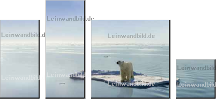Leinwandbild - Jan Will : Global warming