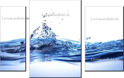 Leinwandbild - 2jenn : water background design3