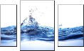 Leinwandbild water background design3