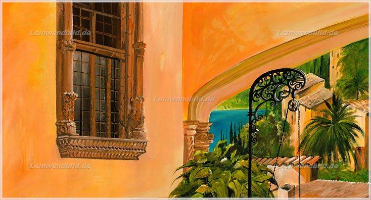Leinwandbild motiv mia morro brunnen des lebens leinwandbild keilrahmenbild wandbild - Mediterrane wandbilder ...