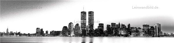 leinwandbild motiv jack dyrell old new york skyline twin towers leinwandbild. Black Bedroom Furniture Sets. Home Design Ideas