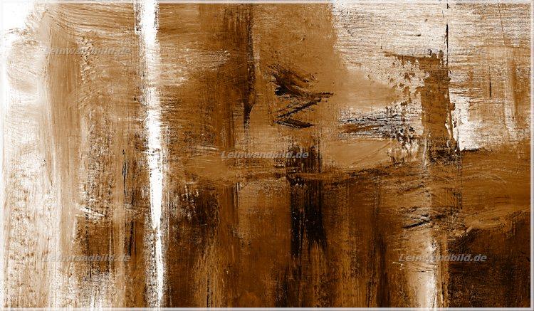 Leinwandbild motiv jack dyrell cognac abstrakt in braun leinwandbild keilrahmenbild - Wandbilder keilrahmenbilder ...